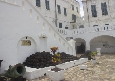 Experience a day trip to Central Regional Ghana and add to your knowledge of ancient castles