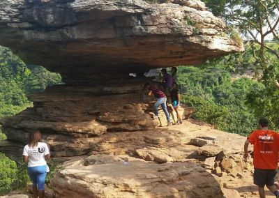 Take cover, sit back and relax at The Umbrella Rock