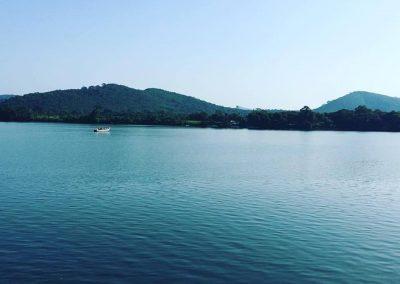 Relax on Akosombo River